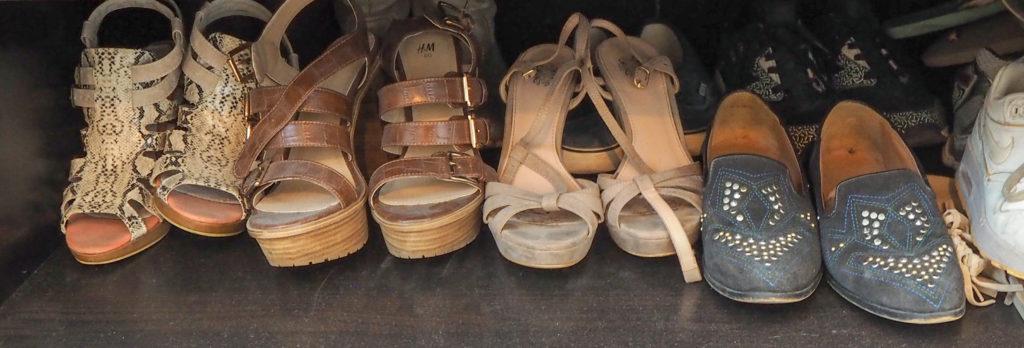 De kast van Patty - schoenen