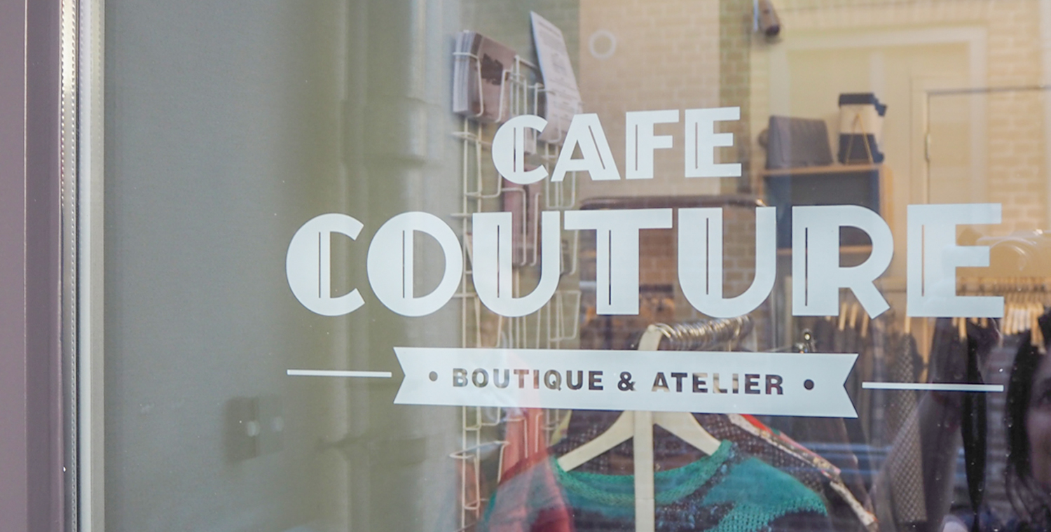 Cafe Couture - reportage - custom made Header